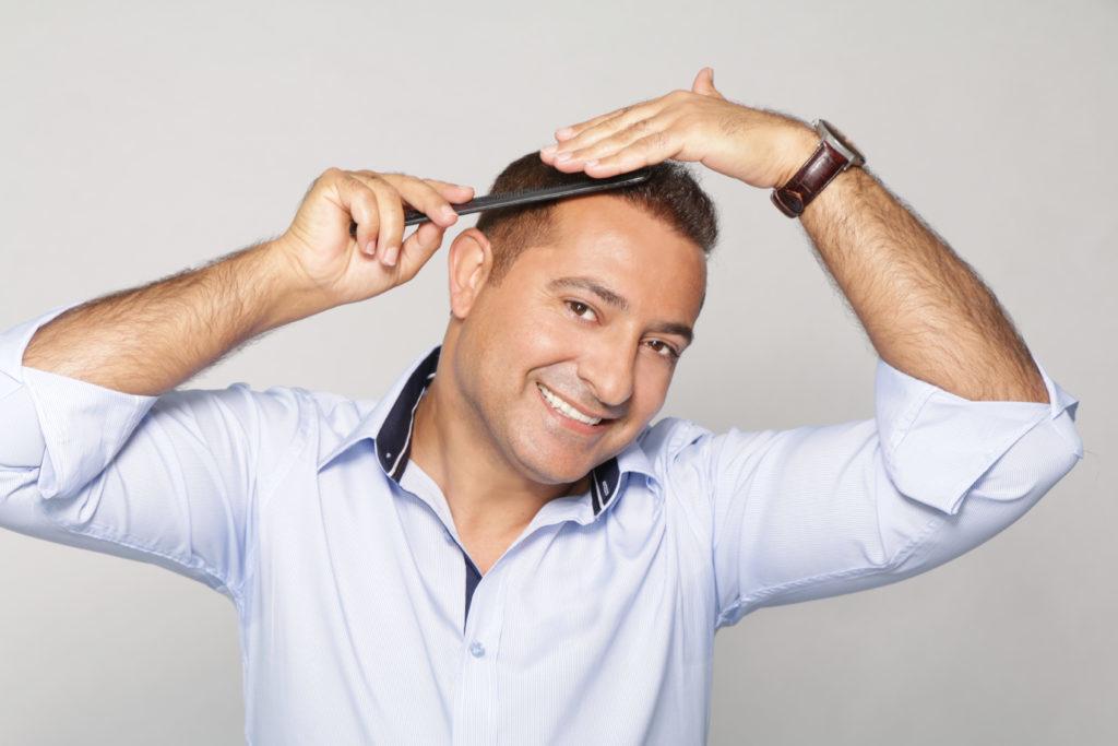 Nach der Haartransplantation in der Türkei